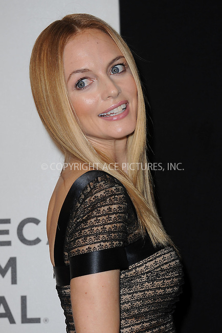 WWW.ACEPIXS.COM . . . . . .April 19, 2013...New York City....Heather Graham attends the 'At Any Price' New York premiere during the 2013 Tribeca Film Festival on April 19, 2013 in New York City. ....Please byline: KRISTIN CALLAHAN - WWW.ACEPIXS.COM.. . . . . . ..Ace Pictures, Inc: ..tel: (212) 243 8787 or (646) 769 0430..e-mail: info@acepixs.com..web: http://www.acepixs.com .