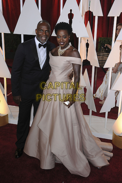 HOLLYWOOD, CA - FEBRUARY 22: Viola Davis attends 87th Annual Academy Awards at The Dolby Theater on February 22nd, 2015 in Hollywood, California. <br /> CAP/MPI/PGMP<br /> &copy;PGMP/MPI/Capital Pictures