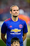 Manchester United midfielder Daley Blind during the International Champions Cup China 2016, match between Manchester United vs Borussia  Dortmund on 22 July 2016 held at the Shanghai Stadium in Shanghai, China. Photo by Marcio Machado / Power Sport Images