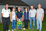 TEAM: The team behind the Kilmoyley Hurling Club on Thursady evening at the media night, l-r: Joe Walsh (Chairman), Triona Brassil (Ass Sec), Paddy O'Sullivan, Shane O'Sullivan (macott), Julie O'Connor, John NOlan and Paddy Harrington.
