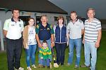 TEAM: The team behind the Kilmoyley Hurling Club on Thursady evening at the media night, l-r: Joe Walsh (Chairman), Triona Brassil (Ass Sec), Paddy O'Sullivan, Shane O'Sullivan (macott), Julie O'Connor, John NOlan and Paddy Harrington.