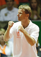 21-9-07, Netherlands, Rotterdam, Daviscup NL-Portugal, Jan Siemerink