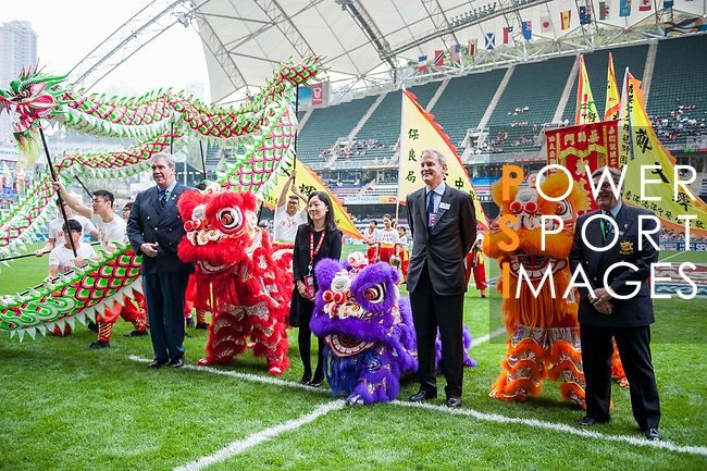 Open Ceremony during the Cathay Pacific / HSBC Hong Kong Sevens at the Hong Kong Stadium on 28 March 2014 in Hong Kong, China. Photo by Juan Flor / Power Sport Images