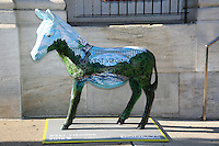 PHILADELPHIA, PA - JULY 20 :  Donkey pictured in Center City in preperation for the Democratic National Convention in Philadelphia, Pa on July 20, 2016  photo credit Star Shooter/MediaPunch