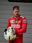 14.04.2019, Shanghai Audi International Circuit, Shanghai, 2019 FORMULA 1 HEINEKEN CHINESE GRAND PRIX<br /> im Bild<br />Sebastian Vettel (GER#5), Scuderia Ferrari<br /> <br /><br /> <br /> Foto &copy; nordphoto / Bratic