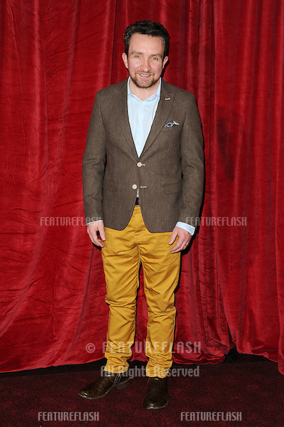 Eddie Marsden arriving for the 'Sherlock Holmes: A Game of Shadows' premiere at the Empire Leicester Square, London. 08/12/2011 Picture by: Steve Vas / Featureflash