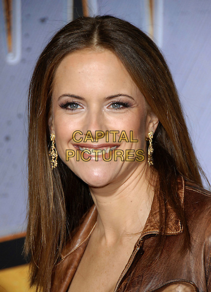 "KELLY PRESTON.attends The Touchstone Pictures' World Premiere of ""Wild Hogs"" held at The El Capitan Theatre in Hollywood, California, USA, February 27 2007. .portrait headshot smiling.CAP/DVS.©Debbie VanStory/Capital Pictures"