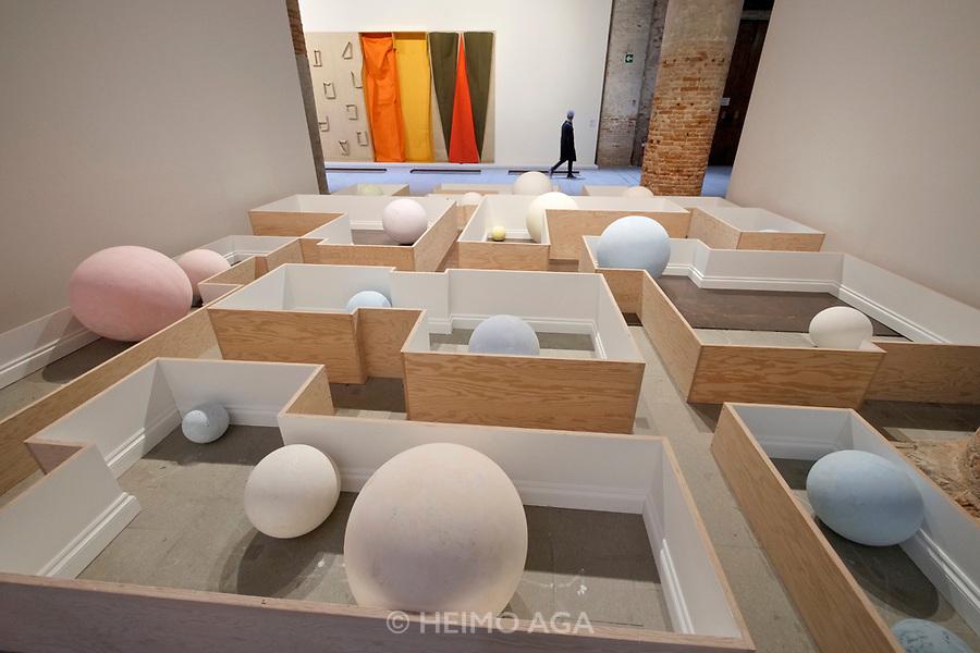 57th Art Biennale in Venice - Viva Arte Viva.<br /> Arsenale. Martin Cordiano: Common Places, 2017