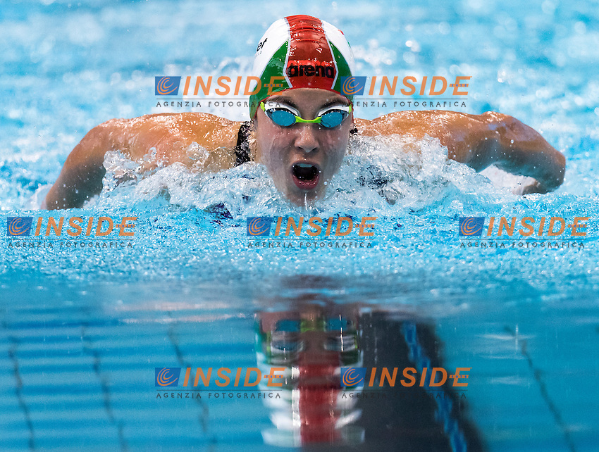 SZILAGYI Liliana HUN<br /> London, Queen Elizabeth II Olympic Park Pool <br /> LEN 2016 European Aquatics Elite Championships <br /> Swimming<br /> Women's 200m butterfly semifinal<br /> Day 13 21-05-2016<br /> Photo Giorgio Perottino/Deepbluemedia/Insidefoto