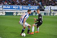 VOETBAL: HEERENVEEN: Abe Lenstra Stadion, 11-04-2015, Eredivisie, sc Heerenveen - AZ Alkmaar, Eindstand: 5-2, Joey van den Berg (#21), ©foto Martin de Jong