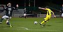 St Mirren's Stephen Mallan scores their second goal.