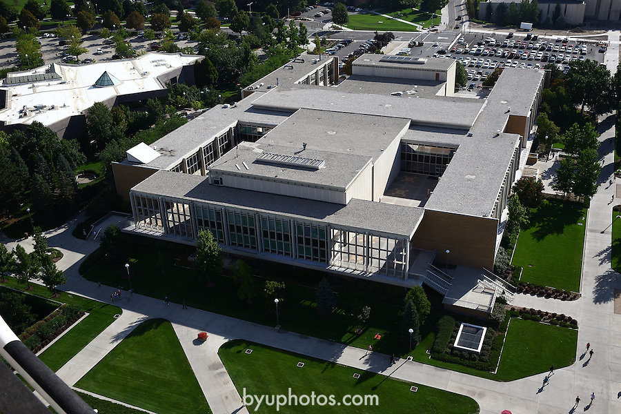 1309-22 3170<br /> <br /> 1309-22 BYU Campus Aerials<br /> <br /> Brigham Young University Campus, Provo, <br /> <br /> Harris Fine Arts Center, HFAC<br /> <br /> September 6, 2013<br /> <br /> Photo by Jaren Wilkey/BYU<br /> <br /> © BYU PHOTO 2013<br /> All Rights Reserved<br /> photo@byu.edu  (801)422-7322