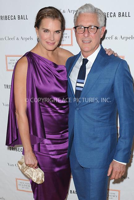 WWW.ACEPIXS.COM<br /> April 13, 2015 New York City <br /> <br /> Brooke Shields attending the Tribeca Ball in Manhattan on April 13, 2015 in New York City.<br /> <br /> Please byline: Kristin Callahan/AcePictures<br /> <br /> ACEPIXS.COM<br /> <br /> Tel: (646) 769 0430<br /> e-mail: info@acepixs.com<br /> web: http://www.acepixs.com
