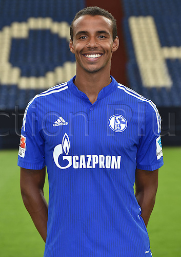 17.07.2015, Gelsenkirchen, Germany. Bundesliga season 2015-16 official squad portrait.  Joel Matip (Schalke 04)