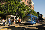 Streetcar in the Pearl District, Portland, Oregon