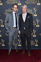 NEW YORK CITY - MAY 08: Gane Spitzer and Charlie Dixon attend the Sports Emmy Awards at Jazz at Lincoln Center's Frederick P. Rose Hall in Manhattan on May 08, 2018 in New York City. (Photo by Anthony Behar/FX/PictureGroup)