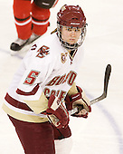 Alex Carpenter (BC - 5) - The Boston College Eagles defeated the visiting St. Lawrence University Saints 6-3 (EN) in their NCAA Quarterfinal match on Saturday, March 10, 2012, at Kelley Rink in Conte Forum in Chestnut Hill, Massachusetts.