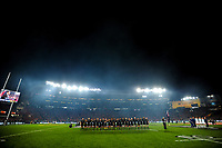 The All Blacks line upo before the 2017 DHL Lions Series rugby union 3rd test match between the NZ All Blacks and British & Irish Lions at Eden Park in Auckland, New Zealand on Saturday, 8 July 2017. Photo: Dave Lintott / lintottphoto.co.nz