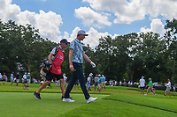 Justin Rose (GBR) makes his way down 3 during round 1 of the 2019 Tour Championship, East Lake Golf Course, Atlanta, Georgia, USA. 8/22/2019.<br /> Picture Ken Murray / Golffile.ie<br /> <br /> All photo usage must carry mandatory copyright credit (© Golffile | Ken Murray)