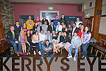 40th Jeremiah O'Rourke Ballybuniopn whpo celebrated his 40th Birthday in Lowes Bar & Restaurant, Ballyduff on Saturday night with his family and friends, (seated 7th from left).