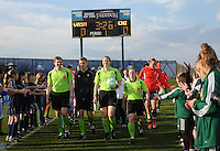 Referees with Team in the Home Opener Of the 2009 Season of the Washington Freedom   Washington Freedom tied Chicago Red Stars 1-1  at The Maryland SoccerPlex, Saturday April 11, 2009.
