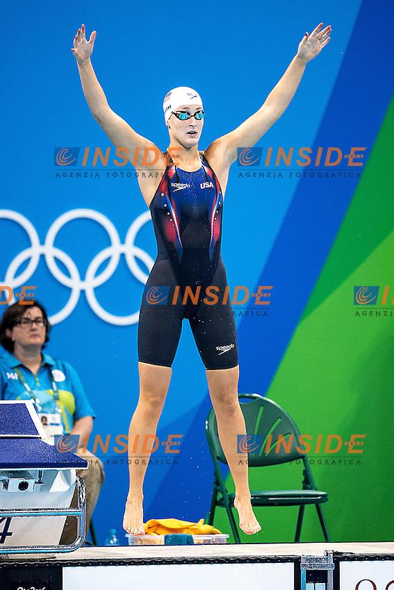 Smith Leah USA<br /> 400 freestyle women<br /> Rio de Janeiro 06-08-2016 XXXI Olympic Games <br /> Olympic Aquatics Stadium <br /> Swimming heats 07/08/2016<br /> Photo Giorgio Scala/Deepbluemedia/Insidefoto