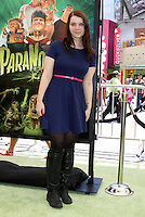 "LOS ANGELES - AUG 5:  Sianoa Smit-McPhee arrives at the ""ParaNorman"" Premiere at Universal CityWalk on August 5, 2012 in Universal City, CA © mpi27/MediaPunch Inc"