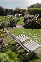 Europe/France/Bretagne/35/Ille et Vilaine/Cancale: Cottage les Rimains d'Olivier et Jane Roellinger - le jardin
