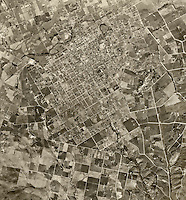 historical aerial photograph Escondido, San Diego County, California, 1947
