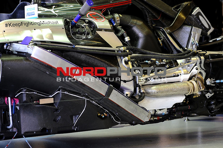 Mercedes F1 W05 engine<br /> for the complete Middle East, Austria &amp; Germany Media usage only!<br />  Foto &copy; nph / Mathis