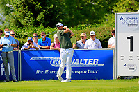 Bernd Wiesberger (AUT) during the first round of the Lyoness Open powered by Organic+ played at Diamond Country Club, Atzenbrugg, Austria. 8-11 June 2017.<br /> 08/06/2017.<br /> Picture: Golffile | Phil Inglis<br /> <br /> <br /> All photo usage must carry mandatory copyright credit (&copy; Golffile | Phil Inglis)