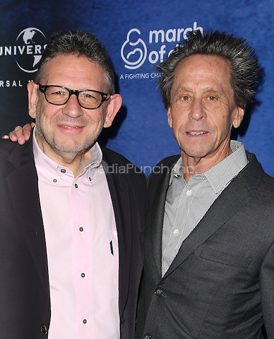 Beverly Hills, CA - DECEMBER 09: Lucian Grainge, Brian Grazer, At 2016 March Of Dimes Celebration Of Babies At The Beverly Wilshire Four Seasons Hotel, California on December 09, 2016. Credit: Faye Sadou/MediaPunch