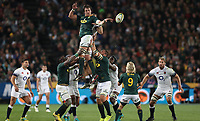 Franco Mostert of South Africa during the 2018 Castle Lager Incoming Series 1st Test match between South Africa and England at Emirates Airline Park,<br /> Johannesburg.South Africa. 09,06,2018 Photo by (Steve Haag Sports)