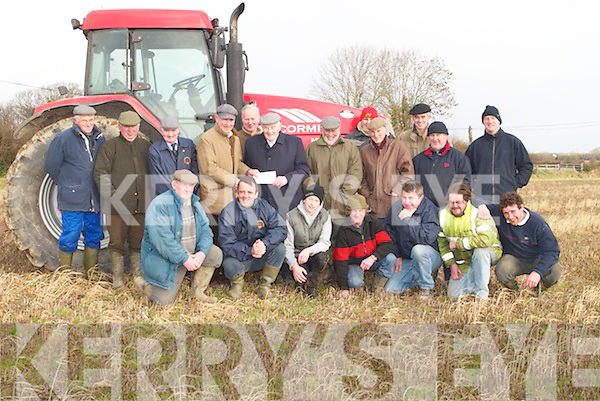 PLOUGHING: At Abbeydorney on Saturday were the Abbeydorney ploughing committee to announce details of the forthcoming ploughing competition at Abbeydorney on Sunday 28th January. They were Mundy Hayes, Michael Fitzmaurice, Jimmy Lawlor, Paudie Buckley, Willie Keane, DJ O'Connell, Joe Slattery, Sonny Lawlor, Jack Condon, Barney Dowling, Jack Lawlor, Ger Maunsell, Peter Everett, Tom Rice, Walter Parkinson, Ger and Christopher McCarthy, Daniel O'Connell and Jack Corridan..
