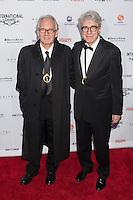 NEW YORK, NY - NOVEMBER 19: Georges Campana and Giacomo Battiato at the 40th International Emmy Awards in New York. November 19, 2012. © Diego Corredor/MediaPunch Inc. /NortePhoto