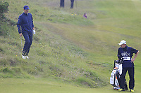 Justin Rose (ENG) in the rough at the 8th green during Sunday's Final Round of the 148th Open Championship, Royal Portrush Golf Club, Portrush, County Antrim, Northern Ireland. 21/07/2019.<br /> Picture Eoin Clarke / Golffile.ie<br /> <br /> All photo usage must carry mandatory copyright credit (© Golffile | Eoin Clarke)