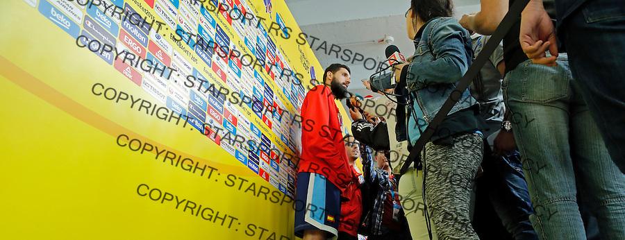 Nikola Mirotic European championship group B basketball match between Serbia and Italy on 9. September 2015 in Berlin, Germany  (credit image & photo: Pedja Milosavljevic / STARSPORT)