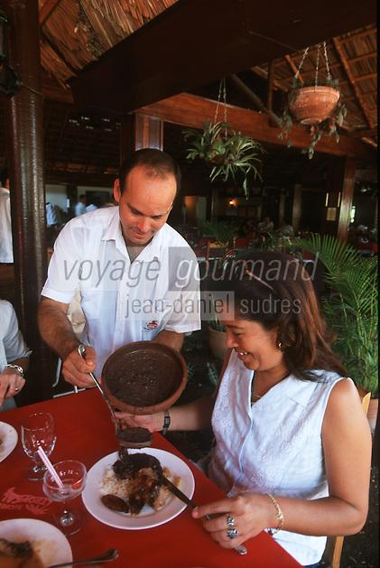 """Cuba/La Havane: Au restaurant """"El Ajibe"""" Avenida 7/ Calle 26"""