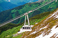 Scenic tram at Alyeska Mountain, Girdwood, Alaska