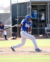 Devaris Gordon / Los Angeles Dodgers 2008 Instructional League..Photo by:  Bill Mitchell/Four Seam Images