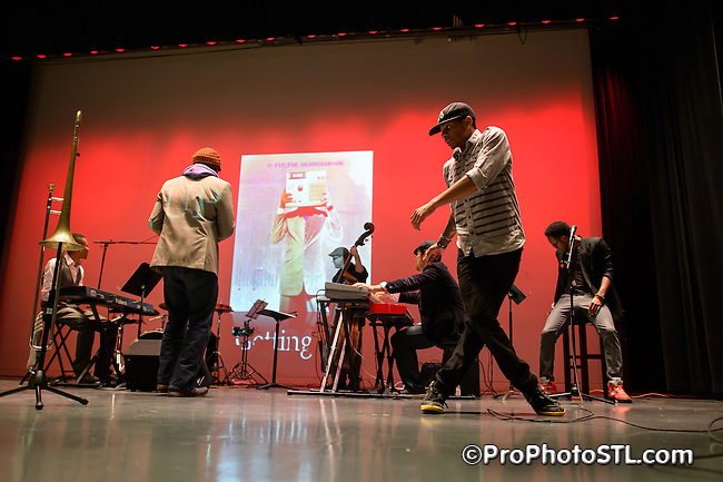 The Experimental Sessions by Lamar Harris and his band at The Missouri History Museum in St. Louis on Nov 28, 2012.