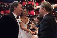 Oscar&reg; winners Matthew McConaughey and Gary Oldman with Camila Alves at the The 90th Oscars&reg; at the Dolby&reg; Theatre in Hollywood, CA on Sunday, March 4, 2018.<br /> *Editorial Use Only*<br /> CAP/PLF/AMPAS<br /> Supplied by Capital Pictures