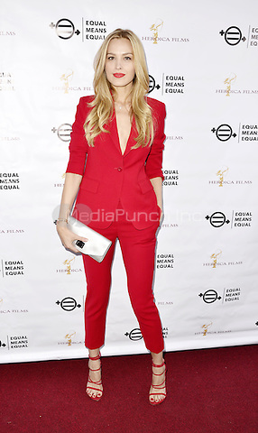 BEVERLY HILLS, CA - AUGUST 26: Petra Nemcova attends the &quot;Equal Means Equal&quot; Special Screening at the Music Hall on August 20, 2016 in Beverly Hills, CA. <br />