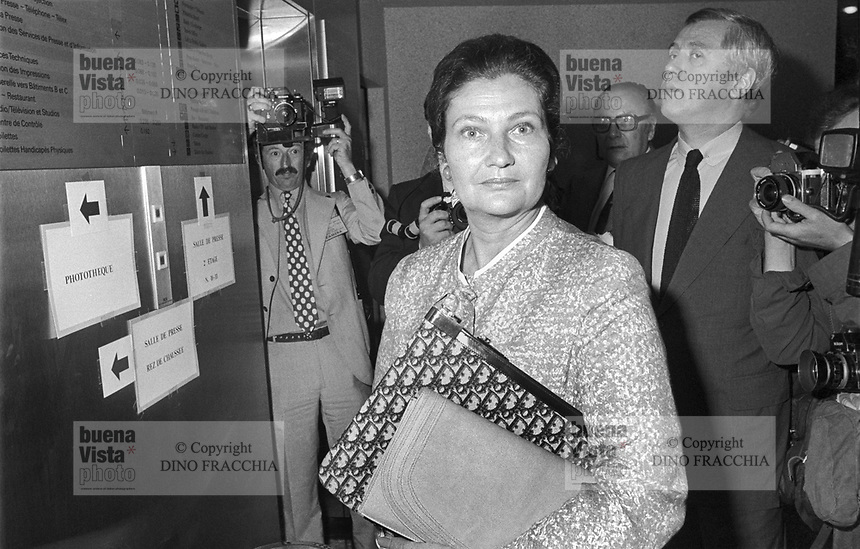 - Simone Veil, primo presidente eletto del Parlamento Europeo e primo presidente donna (1979)<br />