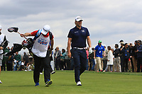 Henric Sturehed (SWE) on the 4th tee during Round 4 of the Open de Espana 2018 at Centro Nacional de Golf on Sunday 15th April 2018.<br /> Picture:  Thos Caffrey / www.golffile.ie<br /> <br /> All photo usage must carry mandatory copyright credit (&copy; Golffile | Thos Caffrey)