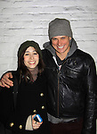 """As The World Turns' Billy Magnussen stars in Broadway's """"Vanya and Sonia and Masha and Spike"""" on March 10. 2013 at the Golden Theatre and poses with Cristin Milioti (Good Wife, 30 Rock) who stars and was Tony nominated for her role in """"Once"""" next door at the Bernard B. Jacobs Theatre, NYC.  (Photo by Sue Coflin/Max Photos)"""