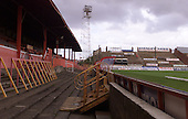 West paddock/stand view towards the Kop......© Phill Heywood.tel 07806 775649