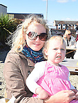 Grace Marr and Sophie Walker pictured at the 'Taste of Togher Festival' ai the Glyde Inn Annagassan. Photo:Colin Bell/pressphotos.ie