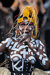 © Joel Goodman - 07973 332324 . 07/06/2015 . Manchester , UK . GRACE JONES performs on the main stage at The Parklife 2015 music festival in Heaton Park , Manchester . Photo credit : Joel Goodman