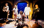 Graeae Theatre Company;<br /> FLESH FLY by Volpone;<br /> Adaptation by Lloyd;<br /> Directed by Marshall;<br /> Simon Startin;<br /> Neil Fox;<br /> Nabil Shaban;<br /> Jonathon Keeble;<br /> Vicky Gee Dare (sign language interpreter)<br /> Premiere;<br /> at Oval House, London, UK;<br /> 13 January 1996